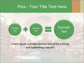 Antique Library PowerPoint Template - Slide 75