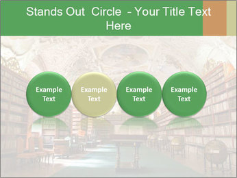 Antique Library PowerPoint Template - Slide 76