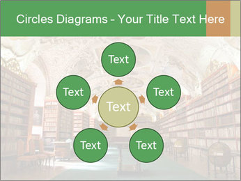 Antique Library PowerPoint Template - Slide 78