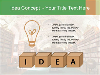 Antique Library PowerPoint Template - Slide 80