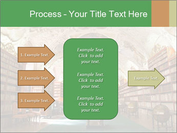 Antique Library PowerPoint Template - Slide 85