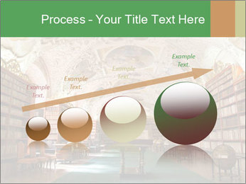 Antique Library PowerPoint Template - Slide 87
