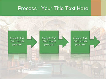 Antique Library PowerPoint Template - Slide 88