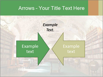 Antique Library PowerPoint Template - Slide 90