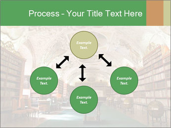 Antique Library PowerPoint Template - Slide 91