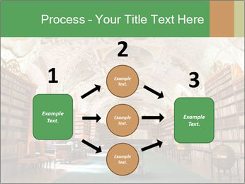 Antique Library PowerPoint Template - Slide 92