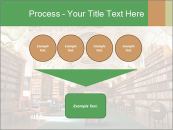 Antique Library PowerPoint Template - Slide 93