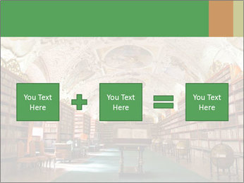 Antique Library PowerPoint Template - Slide 95