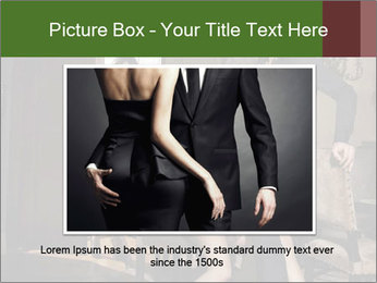 Man And Sensual Chambermaid PowerPoint Templates - Slide 15