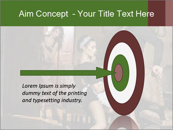 Man And Sensual Chambermaid PowerPoint Template - Slide 83