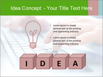 Fast Computer Typing PowerPoint Template - Slide 80