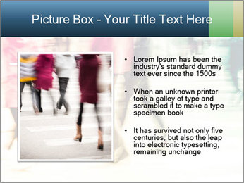 Many People In Motion PowerPoint Template - Slide 13