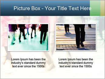 Many People In Motion PowerPoint Template - Slide 18