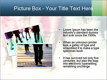 Many People In Motion PowerPoint Template - Slide 20