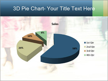 Many People In Motion PowerPoint Template - Slide 35