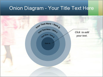 Many People In Motion PowerPoint Template - Slide 61