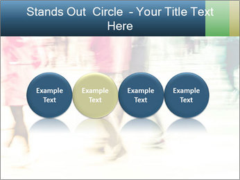 Many People In Motion PowerPoint Template - Slide 76