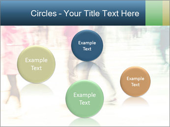 Many People In Motion PowerPoint Template - Slide 77