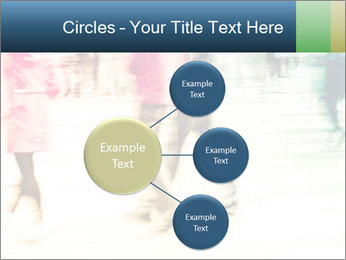 Many People In Motion PowerPoint Templates - Slide 79