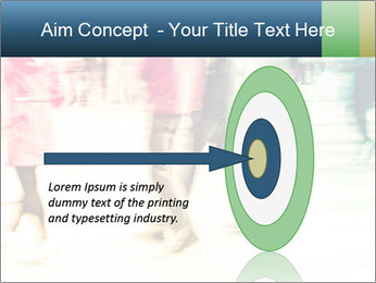 Many People In Motion PowerPoint Template - Slide 83