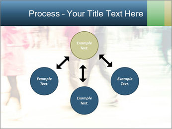 Many People In Motion PowerPoint Templates - Slide 91