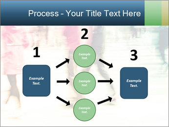 Many People In Motion PowerPoint Templates - Slide 92