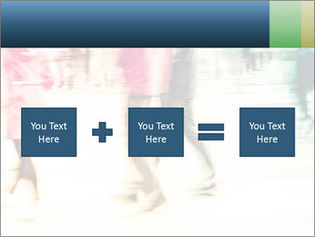 Many People In Motion PowerPoint Template - Slide 95