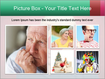 Man With Red Clown Nose PowerPoint Templates - Slide 19