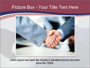 Shake Hands In Business PowerPoint Template - Slide 16