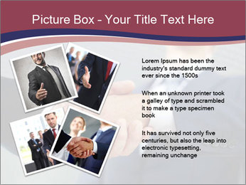 Shake Hands In Business PowerPoint Template - Slide 23