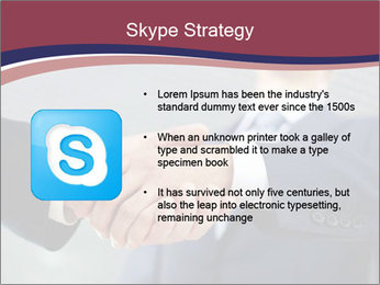 Shake Hands In Business PowerPoint Template - Slide 8