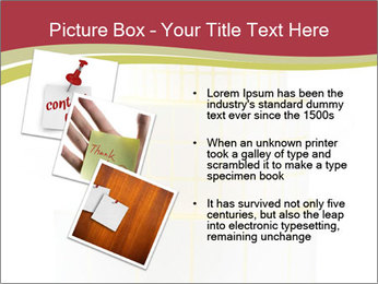 Tower Made Of Sticky Papers PowerPoint Templates - Slide 17