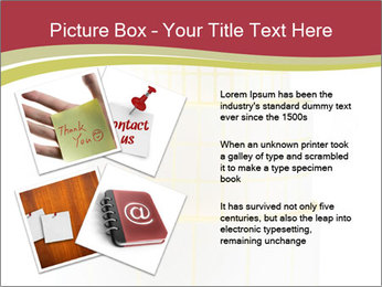 Tower Made Of Sticky Papers PowerPoint Templates - Slide 23