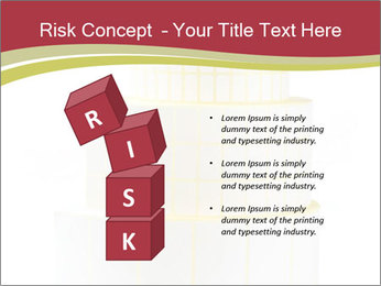 Tower Made Of Sticky Papers PowerPoint Templates - Slide 81