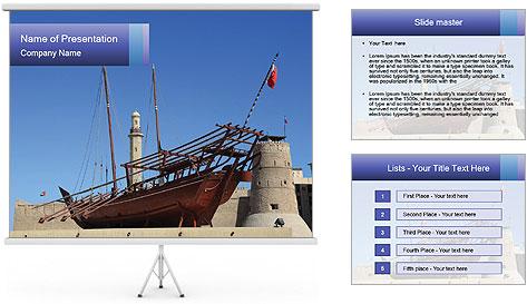 Antique Vessel PowerPoint Template
