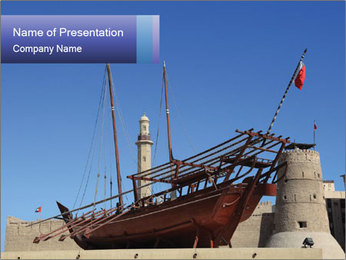 Antique Vessel PowerPoint Template