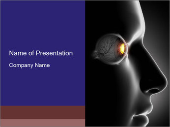 Eye Treatment PowerPoint Templates - Slide 1
