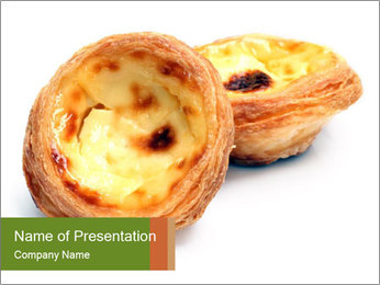 Asian Crispy Snack PowerPoint Template - Slide 1