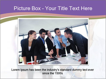 Woman With Colleagues PowerPoint Template - Slide 16