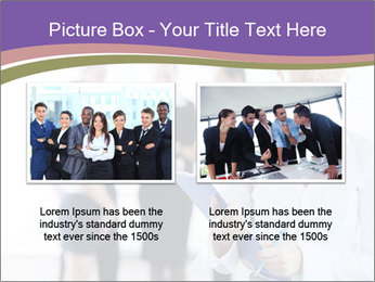 Woman With Colleagues PowerPoint Template - Slide 18