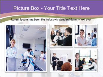 Woman With Colleagues PowerPoint Template - Slide 19