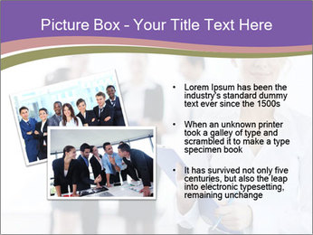 Woman With Colleagues PowerPoint Template - Slide 20
