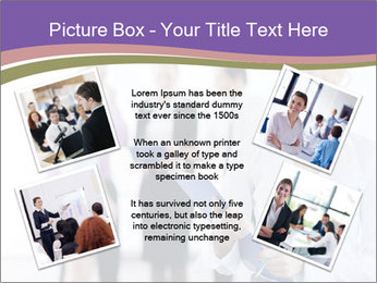 Woman With Colleagues PowerPoint Template - Slide 24
