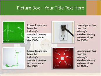 Red Wall With White Plug PowerPoint Template - Slide 14