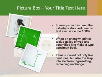 Red Wall With White Plug PowerPoint Template - Slide 17