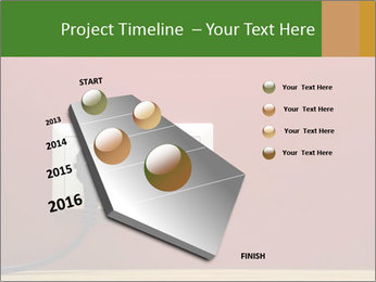 Red Wall With White Plug PowerPoint Template - Slide 26
