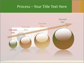 Red Wall With White Plug PowerPoint Template - Slide 87