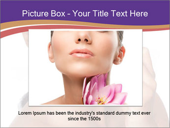 Woman Peeling Skin PowerPoint Template - Slide 15