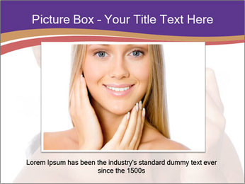 Woman Peeling Skin PowerPoint Template - Slide 16