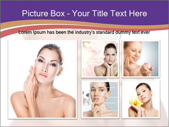 Woman Peeling Skin PowerPoint Template - Slide 19